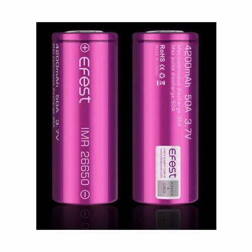 Efest-Purple-IMR26650-flat-top---4200mAh---35A