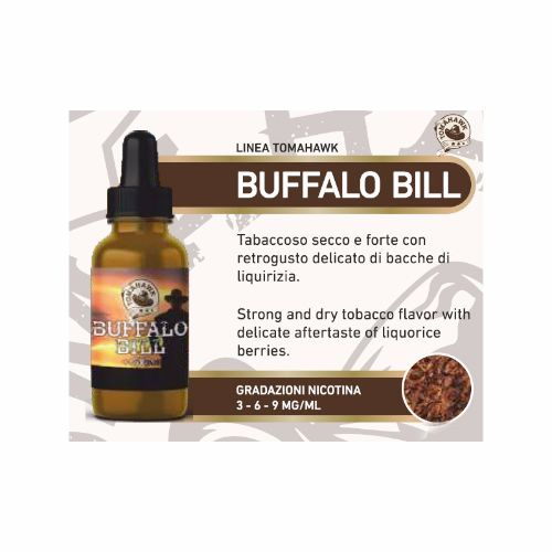 Liquid-LOP-Tabaccoso-Line-TOMAHAWK---BUFFALO-BILL-20-ml